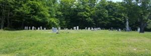Bailey Cemetery panorama